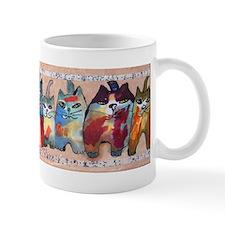 Uptown Cats 5 Small Mug