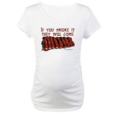 Funny Bbq smoking Shirt
