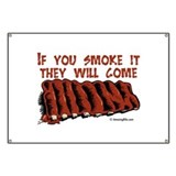 Meat smoking Banners