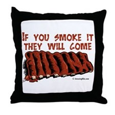 Cute Bbq Throw Pillow