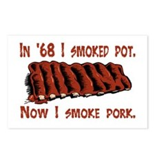 Bbq ribs Postcards (Package of 8)