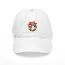 Japanese Chin Christmas Baseball Cap