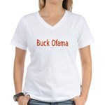 Obamaphobic Women's V-Neck T-Shirt