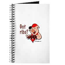 Cute Bbq ribs pigs Journal