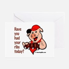 Cute Bbq Greeting Cards (Pk of 10)