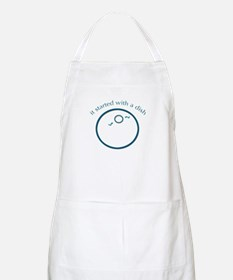 Started with a dish (IVF) BBQ Apron