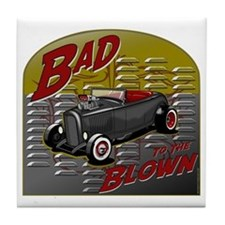Bad to the Blown Tile Coaster