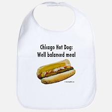 Cool Hotdogs Bib