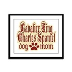 Cavalier King Charles Spaniel Framed Panel Print