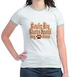Cavalier King Charles Spaniel Jr. Ringer T-Shirt