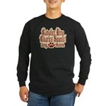 Cavalier King Charles Spaniel Long Sleeve Dark T-S