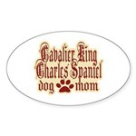 Cavalier King Charles Spaniel Sticker (Oval 50 pk)