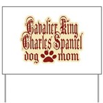 Cavalier King Charles Spaniel Yard Sign