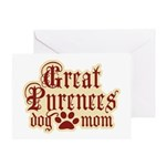 Great Pyrenees Mom Greeting Card