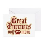 Great Pyrenees Mom Greeting Cards (Pk of 10)