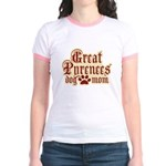 Great Pyrenees Mom Jr. Ringer T-Shirt