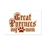 Great Pyrenees Mom Mini Poster Print