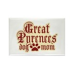 Great Pyrenees Mom Rectangle Magnet (10 pack)