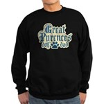 Great Pyrenees Dad Sweatshirt (dark)