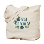 Great Pyrenees Dad Tote Bag
