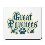 Great Pyrenees Dad Mousepad
