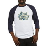 Great Pyrenees Dad Baseball Jersey