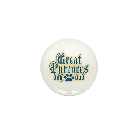 Great Pyrenees Dad Mini Button (10 pack)