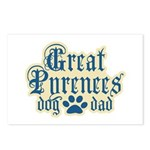 Great Pyrenees Dad Postcards (Package of 8)