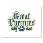 Great Pyrenees Dad Small Poster