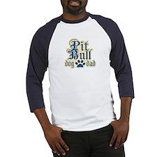 Pit Bull Dad Baseball Jersey