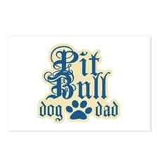 Pit Bull Dad Postcards (Package of 8)