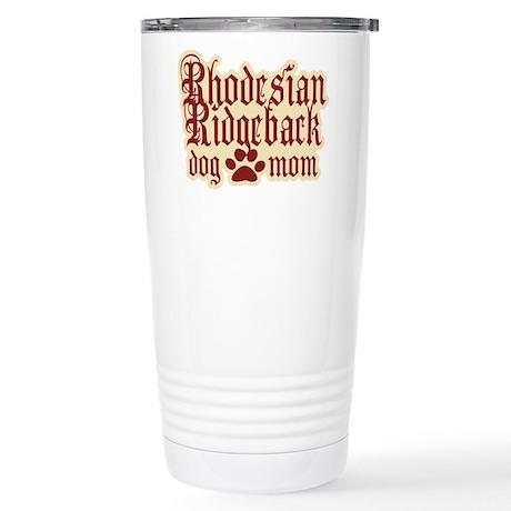 Rhodesian Ridgeback Mom Stainless Steel Travel Mug