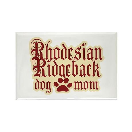 Rhodesian Ridgeback Mom Rectangle Magnet (100 pack