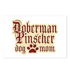 Doberman Pinscher Mom Postcards (Package of 8)