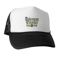 Doberman Pinscher Dad Trucker Hat