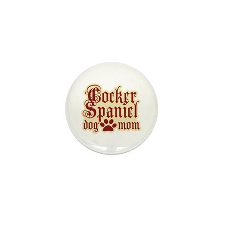 Cocker Spaniel Mom Mini Button (10 pack)