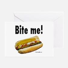 Hot dog Greeting Cards (Pk of 20)