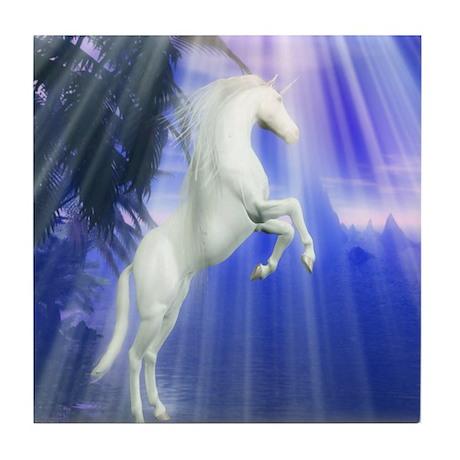 Mystical Unicorn Tile Coaster