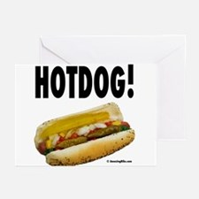 Unique Hot dog Greeting Cards (Pk of 20)