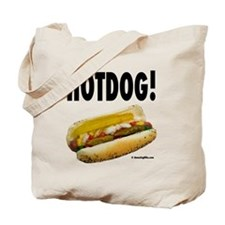 Cute Meat humor Tote Bag