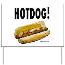 Cute Hot dog Yard Sign
