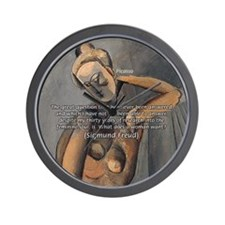 Freud Female Sexuality Wall Clock