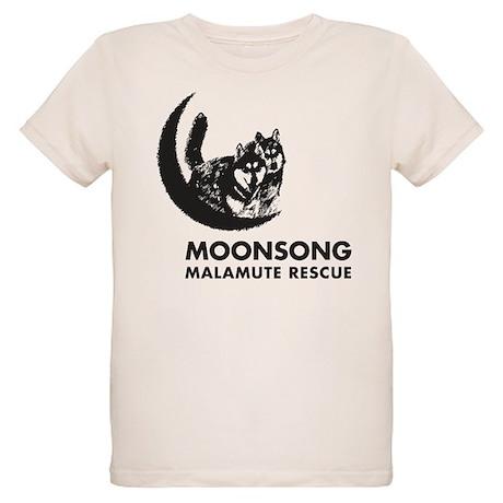 Moonsong Malamute Rescue Organic Kids T-Shirt