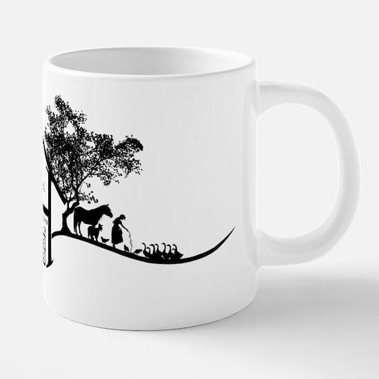 Hockmanranchhatdesign.jpg 20 oz Ceramic Mega Mug