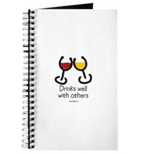 Funny Food and wine Journal