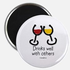 drinks_well Magnets