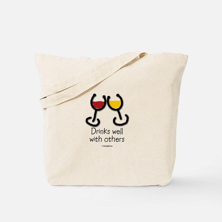Cute Booze Tote Bag