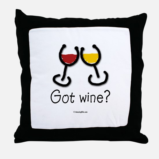 Cute Food drink Throw Pillow