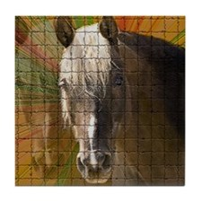 Rocky Mountain Horse Tile Coaster