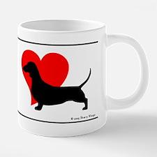 Cute Mini dachshund 20 oz Ceramic Mega Mug
